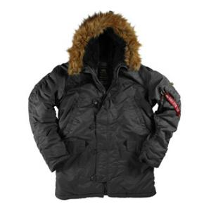 Alpha N3B Parka (Black)