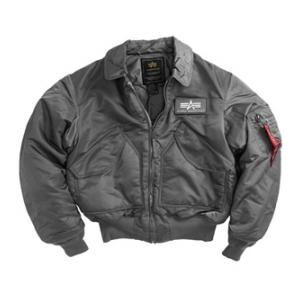Alpha CWU-45/P Flight Jacket (Gun Metal)
