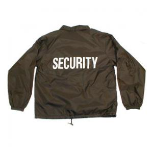 Security Coaches Jacket