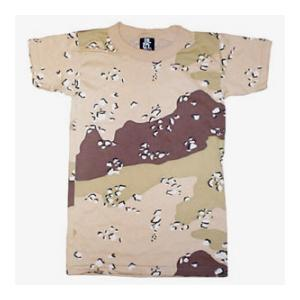 Youth Camouflage T-shirt (Poly / Cotton) 6 Color Desert Camo
