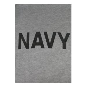 Navy T-shirt (Gray)