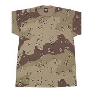Camouflage T-Shirt (6 Color Desert)