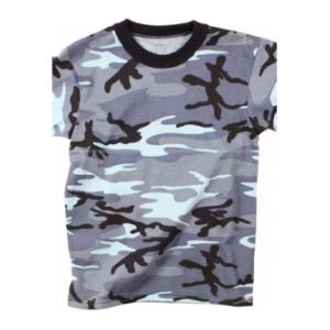 Camouflage T-Shirt (Midnight Blue Camo)
