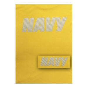 US Navy Yellow T-shirt