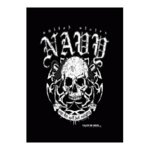 Navy Not For Self But Country T-Shirt (Black) Black Ink Design