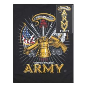 Death Before Dismount U.S. Army Armor T-Shirt (7.62 Design) (Black)