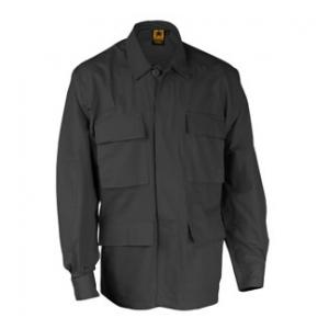 4 Pocket BDU Shirt (Poly/Cotton Twill)(Black)