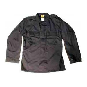 2 Pocket BDU Shirt (Poly/Cotton Twill)(Black)