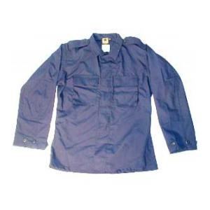 2 Pocket BDU Shirt (Poly/Cotton Ripstop)(Navy Blue)