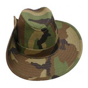 Australian Style Bush Hat Woodland Camo Flying Tigers Surplus