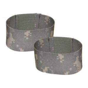 "2"" Boot Blousers/Velcro Tie Straps ACU"