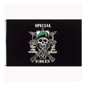 Army Special Forces Flag (Mess With The Best)