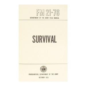 Survival FM 21-76 Manual