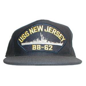 Uss New Jersey Bb 62 Cap Dark Navy Flying Tigers Surplus