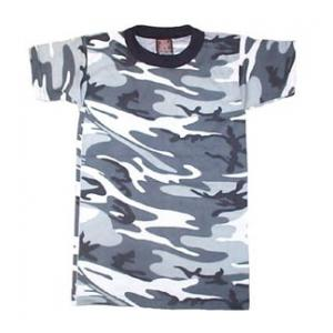 Youth Camouflage T-shirt (100% Cotton) Urban Camo
