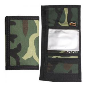 Camouflage Trifold Wallet (Woodland Camo)