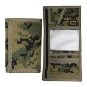 Camouflage Trifold Wallet (Woodland Digital)