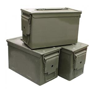 G I .50 Caliber Size Ammo Can (Used)