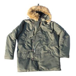 Youth Alpha N-3B Parka (Olive Drab)