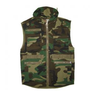 Youth Ranger Vest (Woodland Camo)