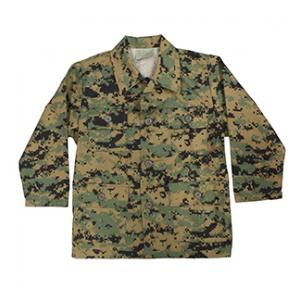 Youth BDU Long Sleeve Shirt (Woodland Digital)