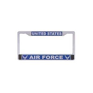 Air Force New Logo License Plate Frame