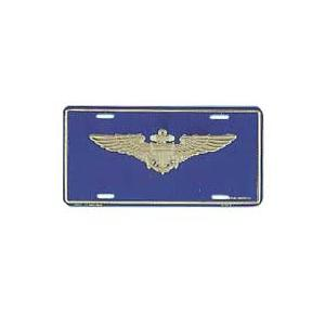 Navy Aviator Wings License Plate