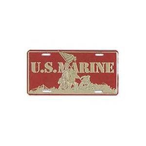 US Marine Iwo Jima License Plate