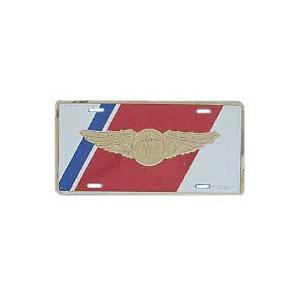 Coast Guard Aircrew Wings License Plate