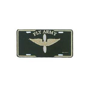 Fly Army License Plate