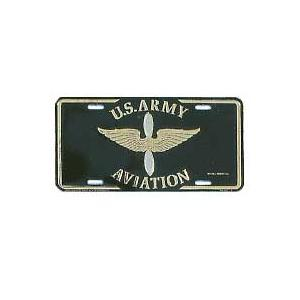US Army Aviation License Plate
