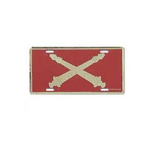 Army Field Artillery License Plate