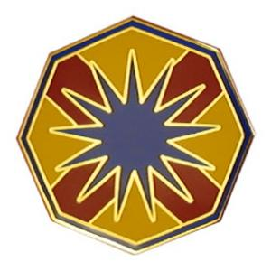 13th Sustainment Command Combat Service I.D. Badge