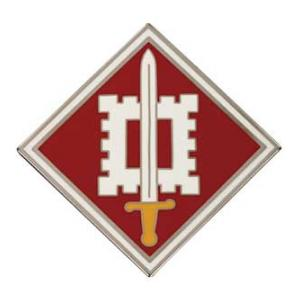 18th Engineer Brigade Combat Service I.D. Badge