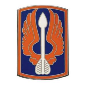 18th Aviation Brigade Combat Service I.D. Badge