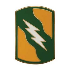 155th Armored Brigade Combat Service I.D. Badge