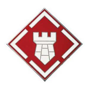 20th Engineer Brigade Combat Service I.D. Badge