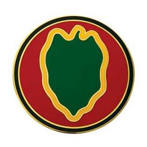 24th Infantry Division Combat Service I.D. Badge