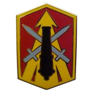 214th Fire Brigade Combat Service I.D. Badge