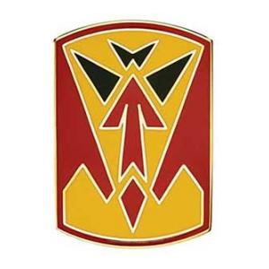 35th Air Defense Artillery Brigade Combat Service I.D. Badge