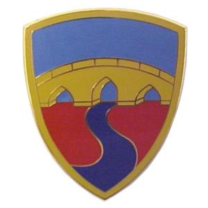 304th Sustainment Brigade Combat Service I.D. Badge