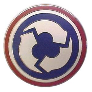 311th Sustainment Command Combat Service I.D. Badge