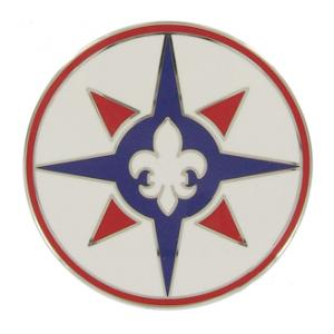 316th Sustainment Command Combat Service I.D. Badge