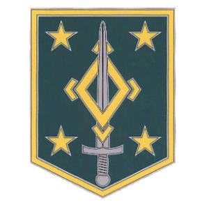 4th Maneuver Enhancement Combat Service I.D. Badge