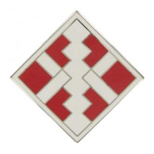 411th Engineer Brigade Combat Service I.D. Badge