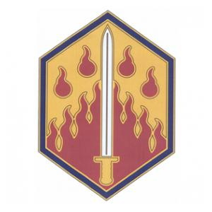 48th Chemical Brigade Combat Service I.D. Badge