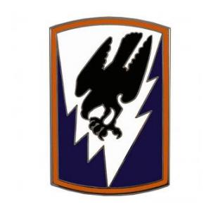 66th Aviation Command Combat Service I.D. Badge