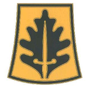 800th Military Police Brigade Combat Service I.D. Badge