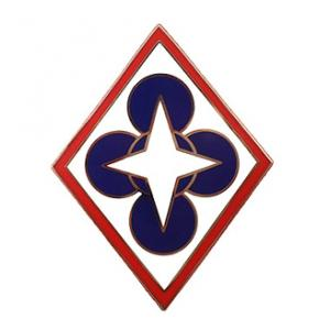 Combined Arms Support Command Combat Service I.D. Badge