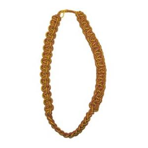 Shoulder Cord (Brick Red and Yellow)